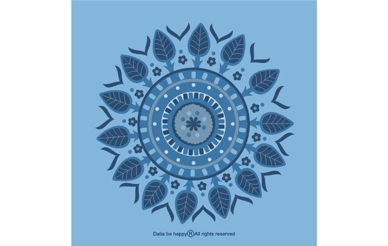 מתנת תודה, מתנה ליולדת,מתנות קטנות, מתנות לחברה הכי טובה, דליה ברנובר, משפטי תודה, אהבה, כחול, מנדלה